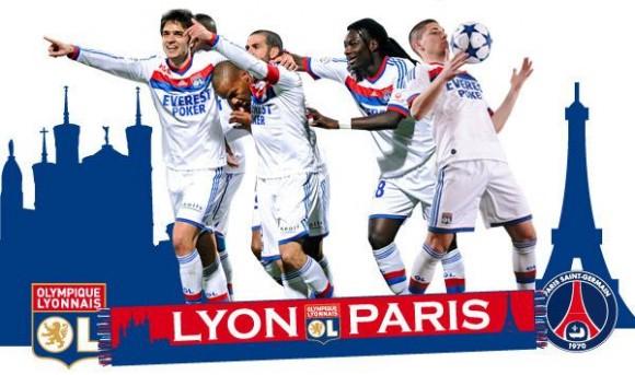 Lyon PSG, ce soir à 21h