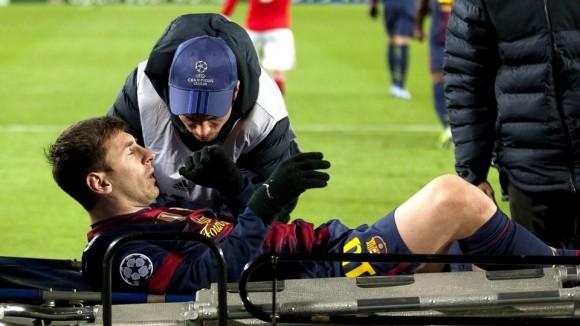 Blessure Leo Messi : éventuelle fin de saison déjà à 46 buts