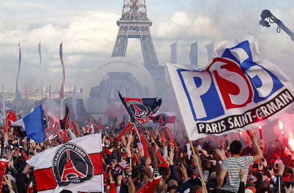 Trocadero - des actes de vandalisme de la part des supporteurs du PSG