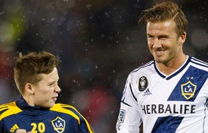 Angleterre : Beckham Junior signe à QPR