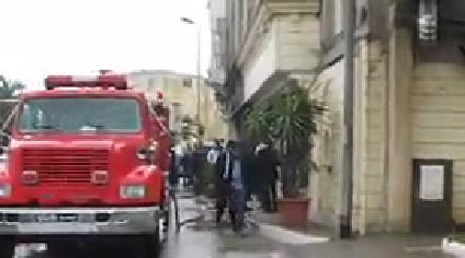 Un incendie ravage un salon de thé à Bizerte