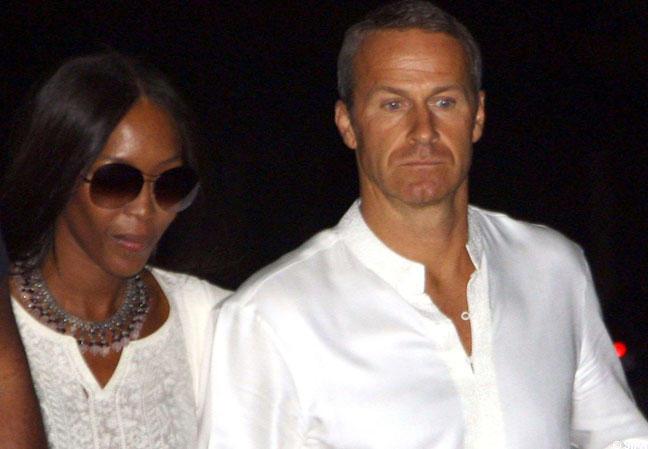 Naomi Campbell et Vladimir Doronin
