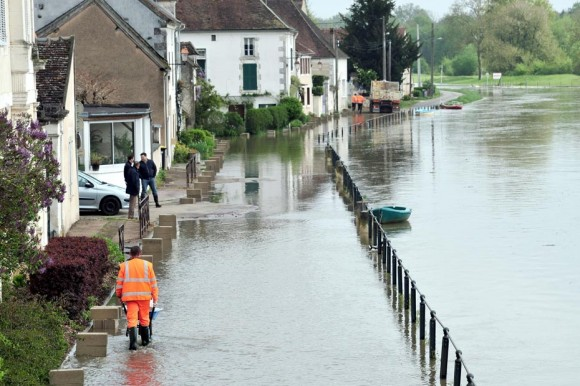 Innondations à Dijon