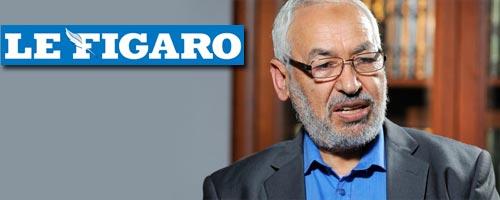 Ghannouchi au Figaro : Les salafistes sont les enfants de la Tunisie