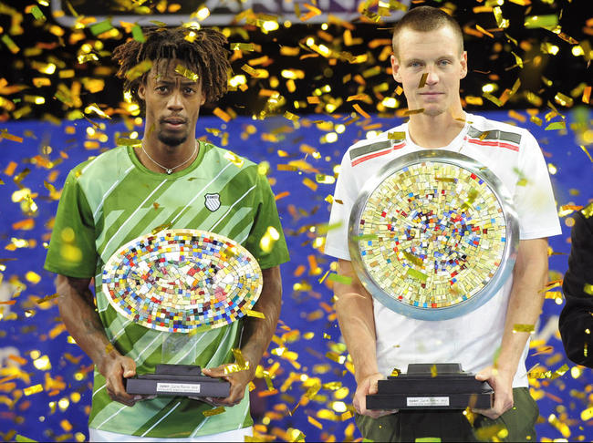 Roland-Garros : Gaël Monfils face à Tomas Berdych
