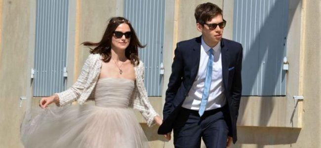 Mariage de Keira Knightley
