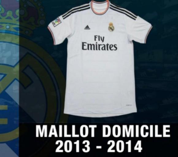 Découvrez le nouveau maillot de Real Madrid