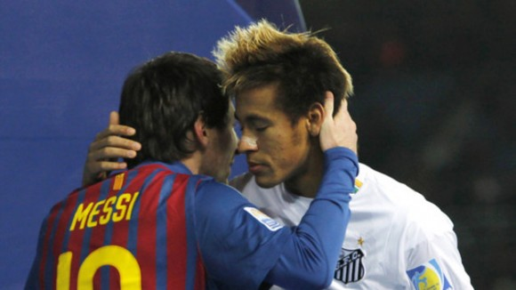 Neymar officiellement à FC Barcelone