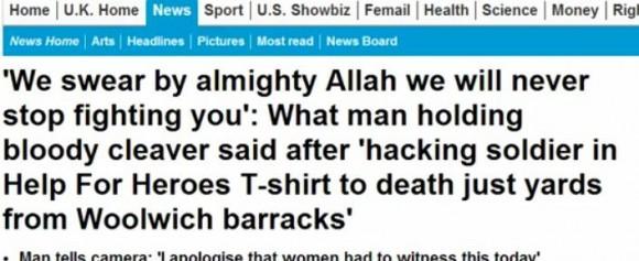 Un titre accrocheur suscitant la colère de l'internaute dénonçant le combat éternel des musulmans contre les infidèles et les mécréants