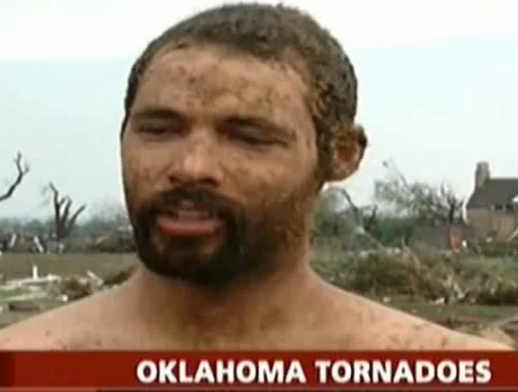 """Tornade à l'Oklahoma """"les chevaux volaient"""""""