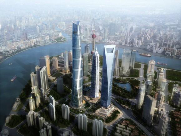 Shanghai Tower à Pudong
