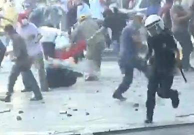 Brutalité policière turc contre les manifestants