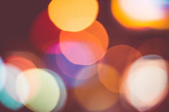 Couleurs Phares Abstrait Lumières Nuit
