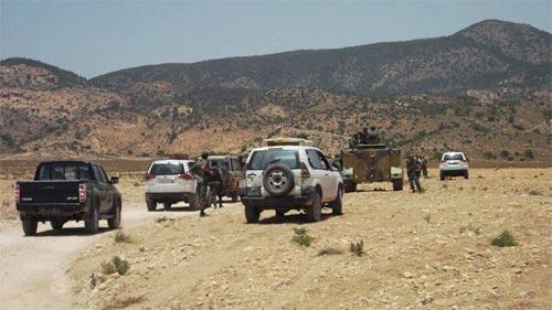 Jbal Châambi : Les habitants de Kasserine soutiennent les militaires (Photo 1)