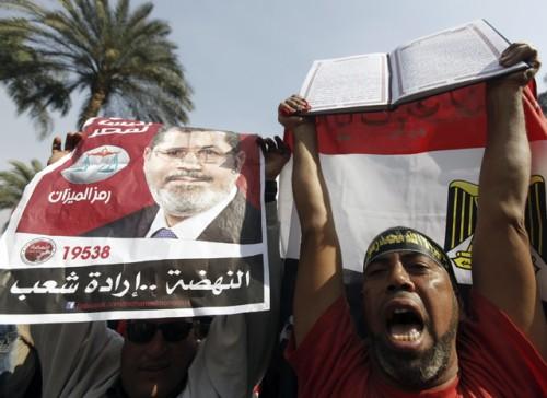 Manifestants-pro-Morsi-