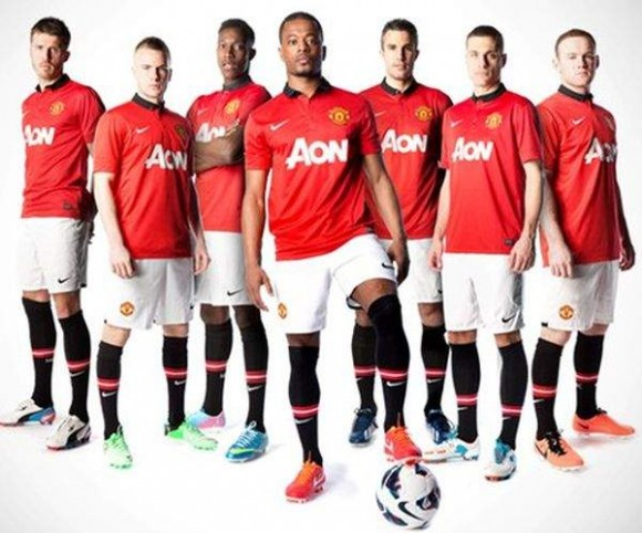 Enfin, le maillot des Red Devils !