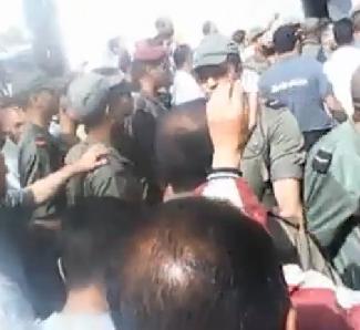 Hommage populaire pour les dépouilles des 2 militaires