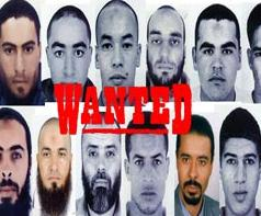Rediffusion des photos de terroristes recherchés