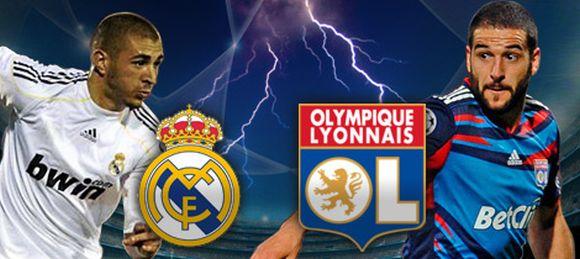 Match amical entre le Real Madrid et l'Olympique Lyonnais