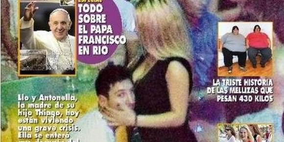 Lionel Messi surpris dans les bras d'une call-girl