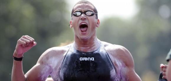 Oussama Mellouli - Champion du monde sur le 5Km en eau libre