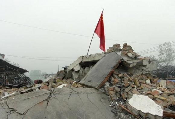 Tremblement de terre à la province de Gansu en Chine