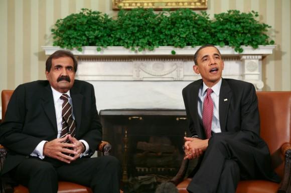 Obama+Meets+With+Amir+Of+Qatar+e5fB-m8gHEXl
