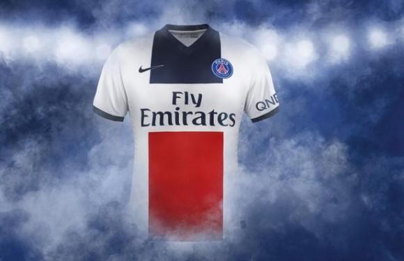 Nouveau maillot extérieur du PSG