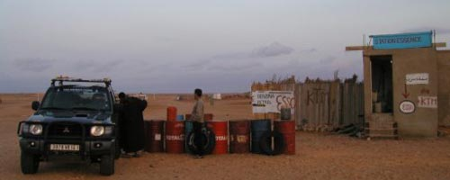 Grève des pompistes de Djerba
