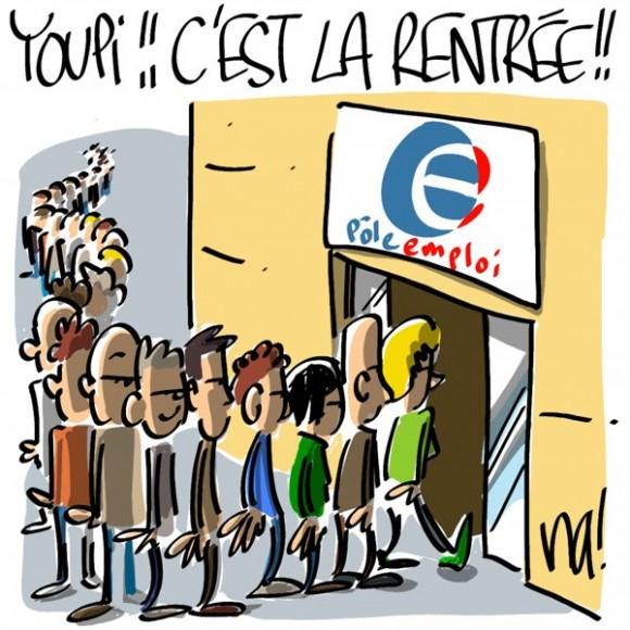 rentree-pole-emploi-chomeurs-crise-economique-montee-chomage-france