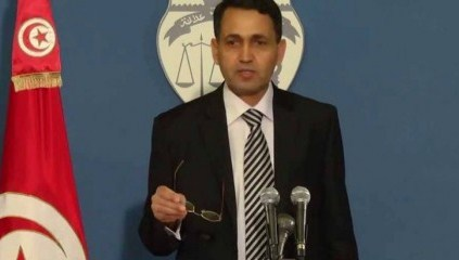 Salem Labyedh, ministre démissionnaire en conférence de presse
