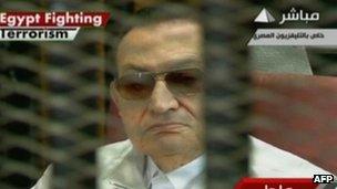Le procès d'Hosni Moubarak a débuté en mai 2013, mais a été ajourné à plusieurs reprises