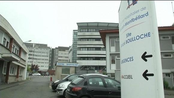 L'hôpital de Montbéliard
