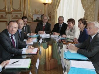 Une réunion sur la réforme des retraites en Juillet avec le président du Medef Pierre Gattaz
