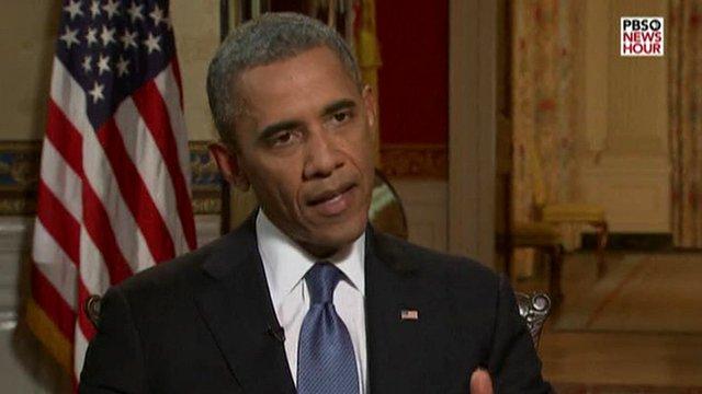 Le président Barack Obama:'' Je n'ai aucun intérêt dans tout type de conflit ouvert en Syrie''