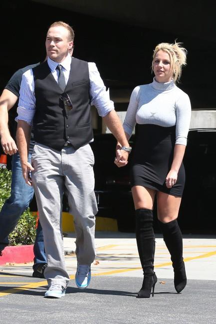 Britney Spears et David Lucato