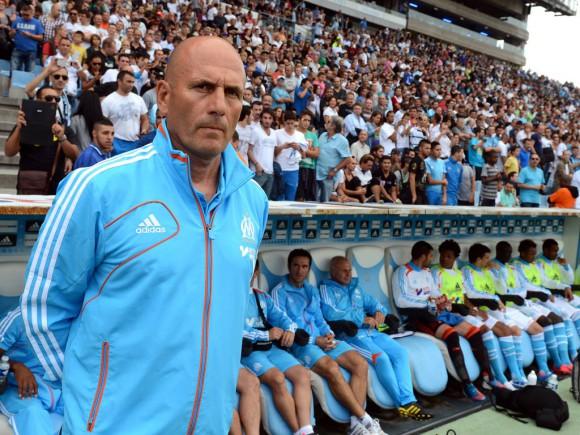 Elie Baup, entraîneur de l'Olympique de Marseille