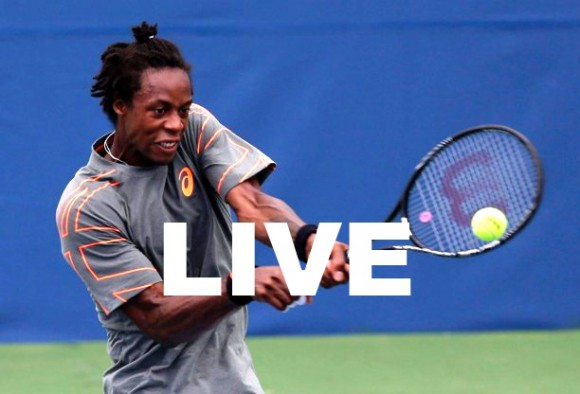 Match Gael Monfils Melzer Streaming  Direct Replay Finale Winston Salem 2013 ATP Tennis