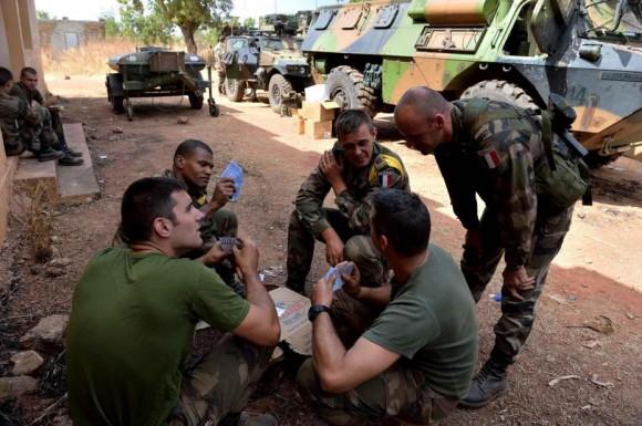 Les troupes Françaises au Mali