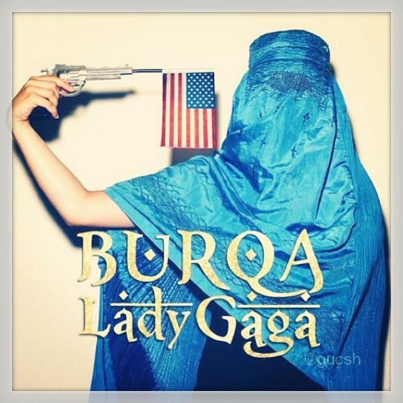 L'affiche de l'extrait du nouvel album de Lady Gaga