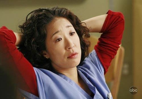Sandra Oh (Cristina Yang, dans Grey's Anatomy)