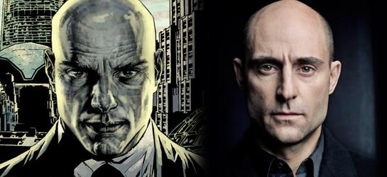 Mark Strong pourrait incarner Lex Luthor dans Man of Steel 2 selon des rumeurs.