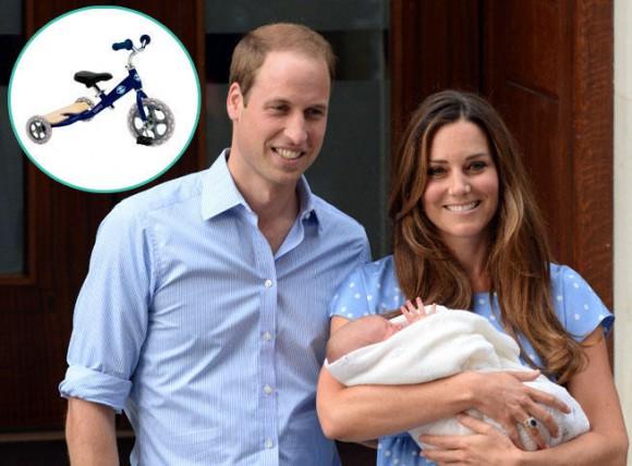 Un tricycle pour le Prince George