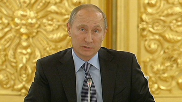 Vladimir Poutine, président du G20