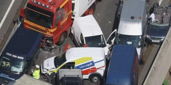 Accident au Royaume-Uni (Sipa)