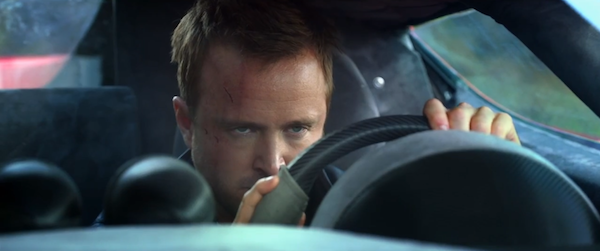 "Aaron Paul dans le film ""Need for Speed""."
