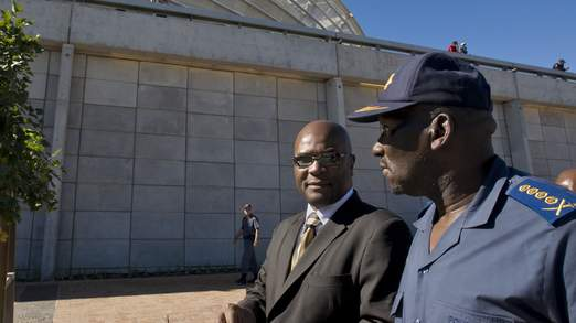 South African Minister of Police Nathi M