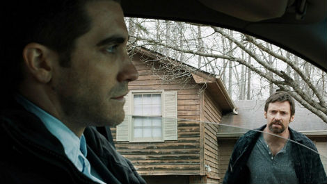 Hugh Jackman et Aaron Guzikowski dans le film