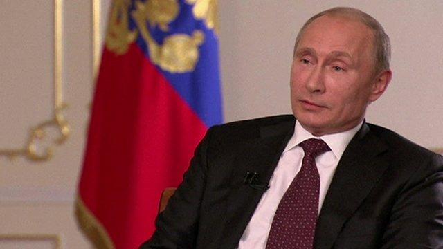 """Le président Poutine a déclaré que toute intervention non sanctionnée de l'ONU serait interprété comme """"agression"""""""