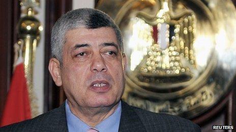 Mohammed Ibrahim est ministre de l'Intérieur et le chef de la police égyptienne